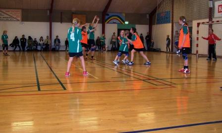 Her bruges hallen til håndbold - men den kan lejes til mange formål